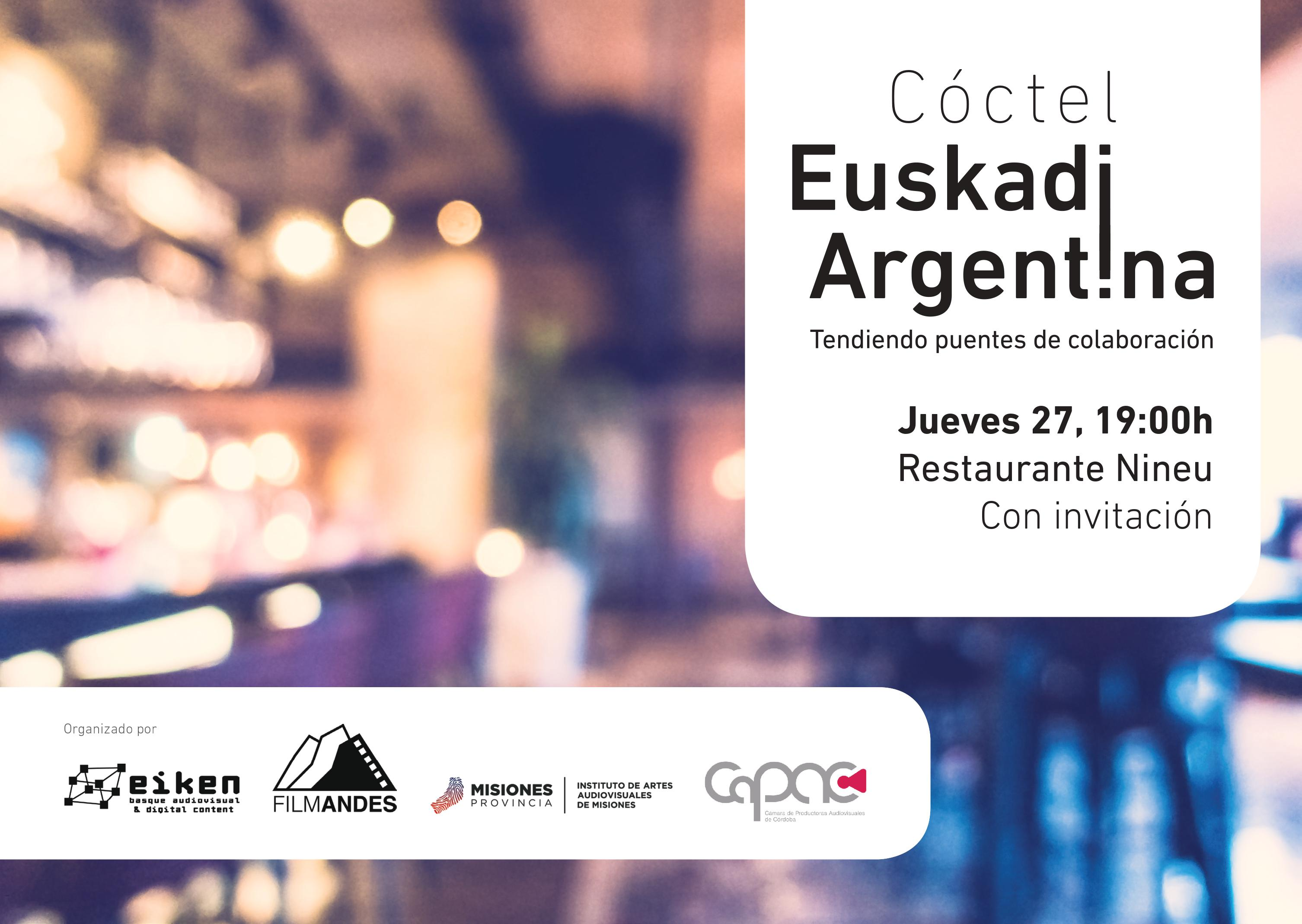 EIKEN Basque Audiovisual en el ZINEMALDIA